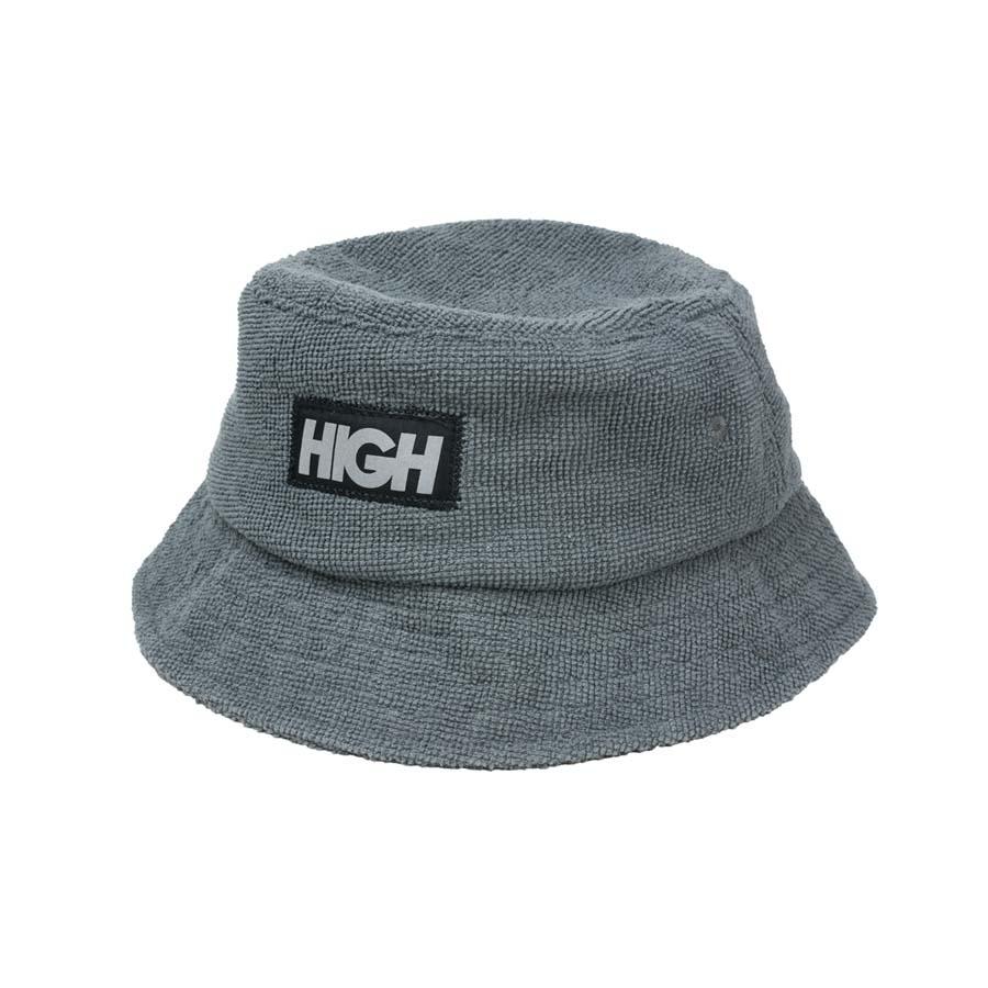 Bucket High Terry Bucket Hat Silver