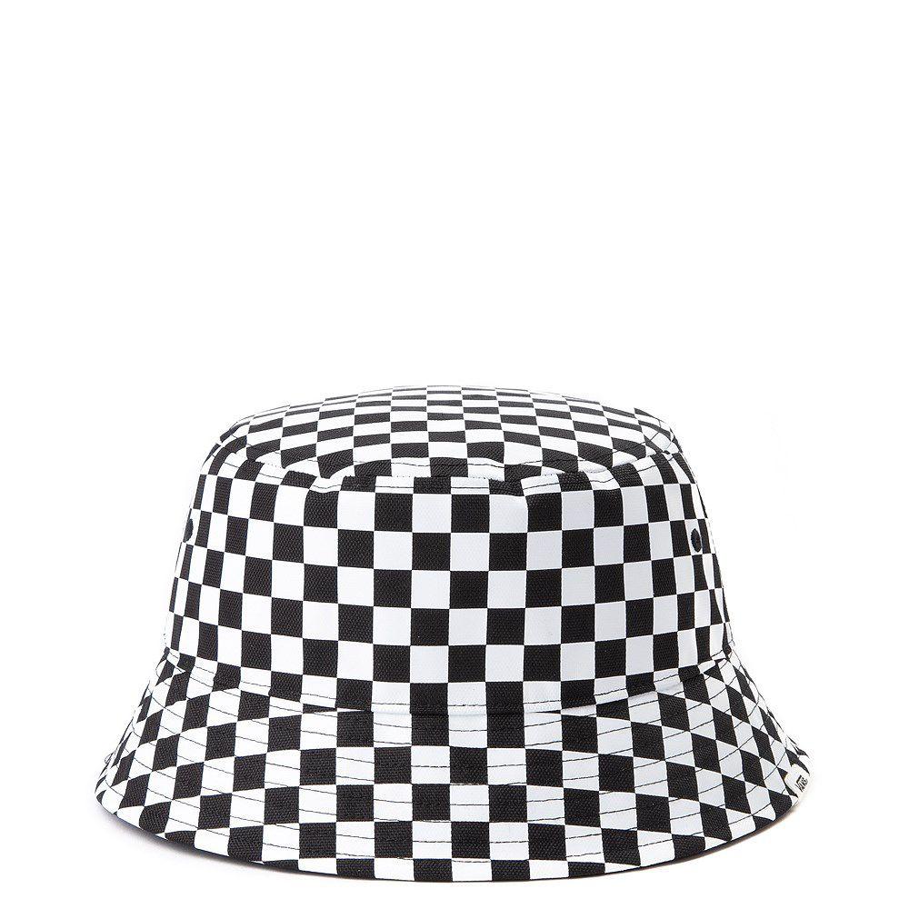 Bucket Vans Drizzle Drop Check Black/White