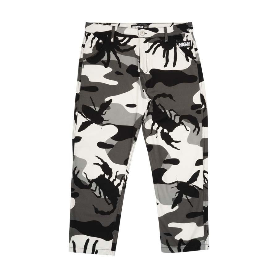 Calça High Bug Camo Pants Black