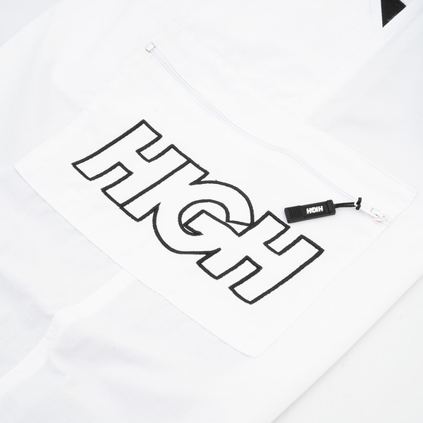 Calça High Cargo Track Pants White
