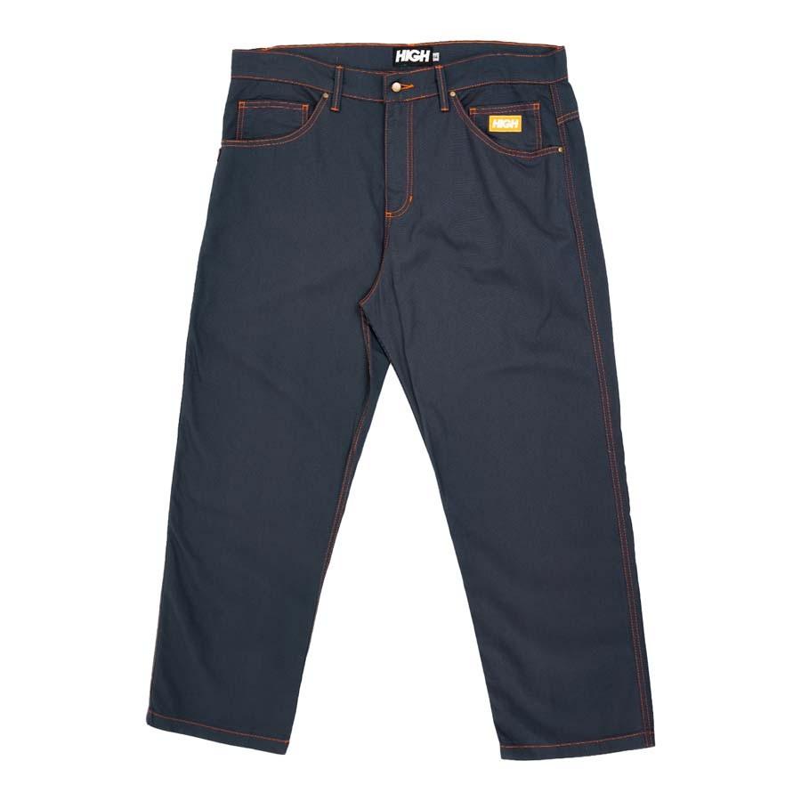 Calça High Chino Pants Colored Grey
