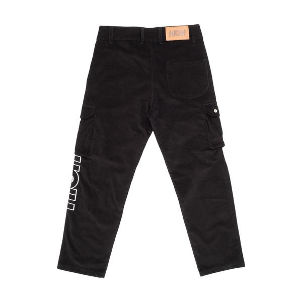 Calça High Corduroy Cargo Pants Black