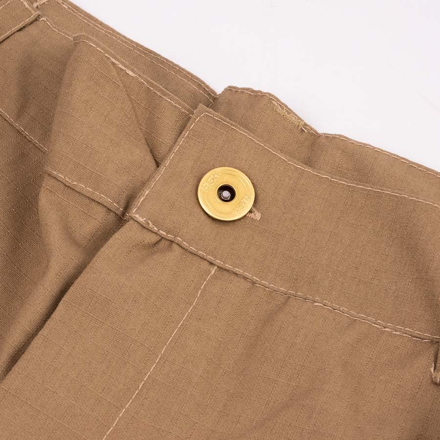 Calça High Ripstop Cargo Pants Beige
