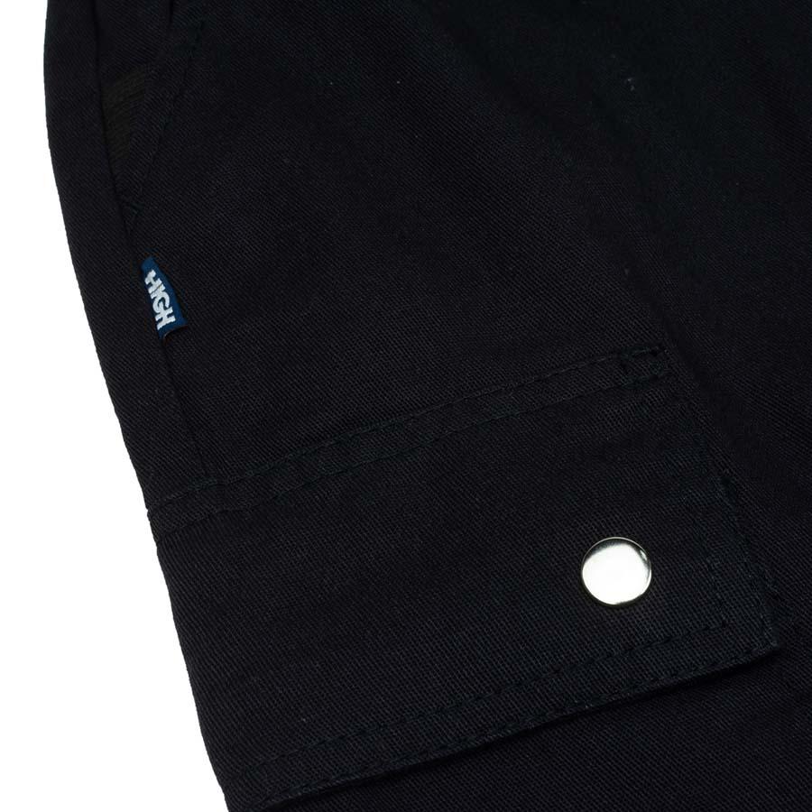 Calça High Strapped Cargo Pants Black