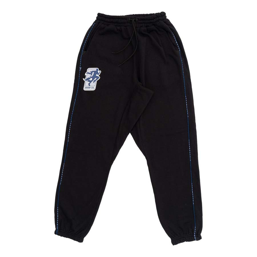 Calça High Sweat Pants Exercise Black