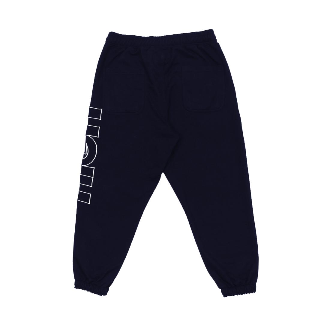 Calça High Sweatpants Outline Logo Navy