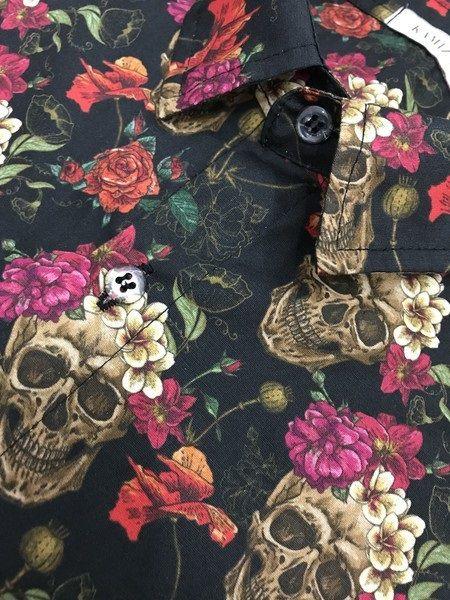 Camisa Kamizahia Mexican Black