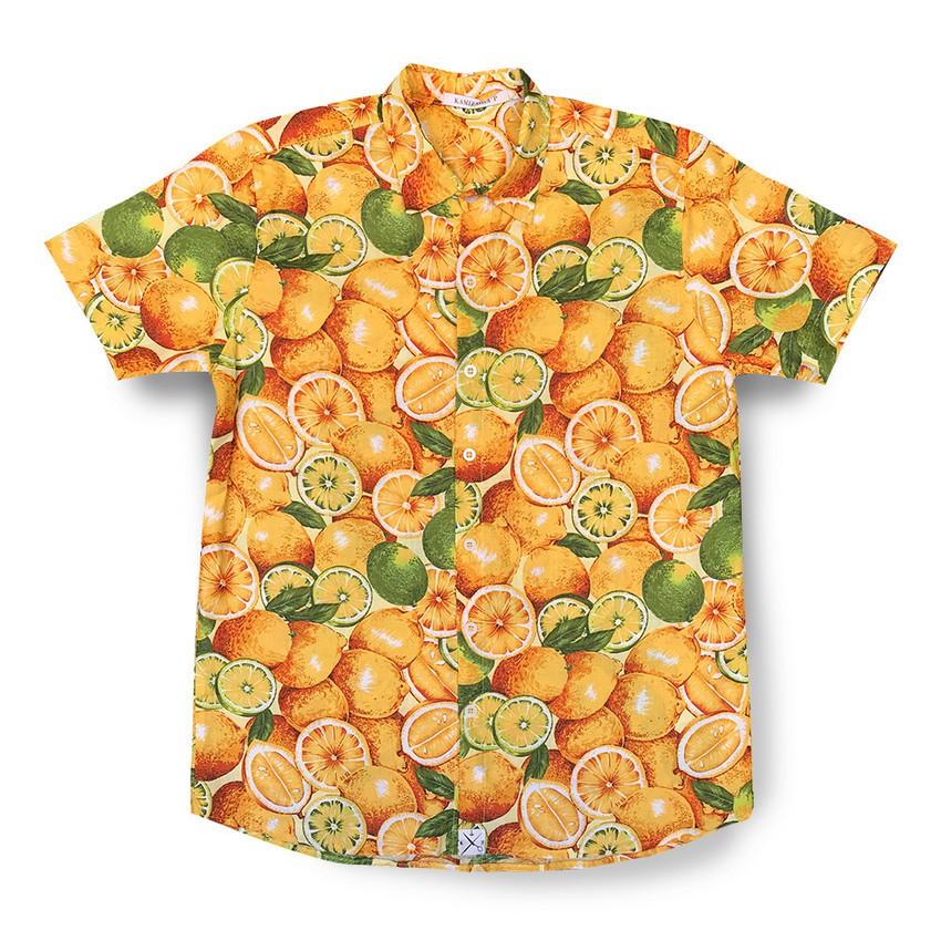 Camisa Kamizahia Orange
