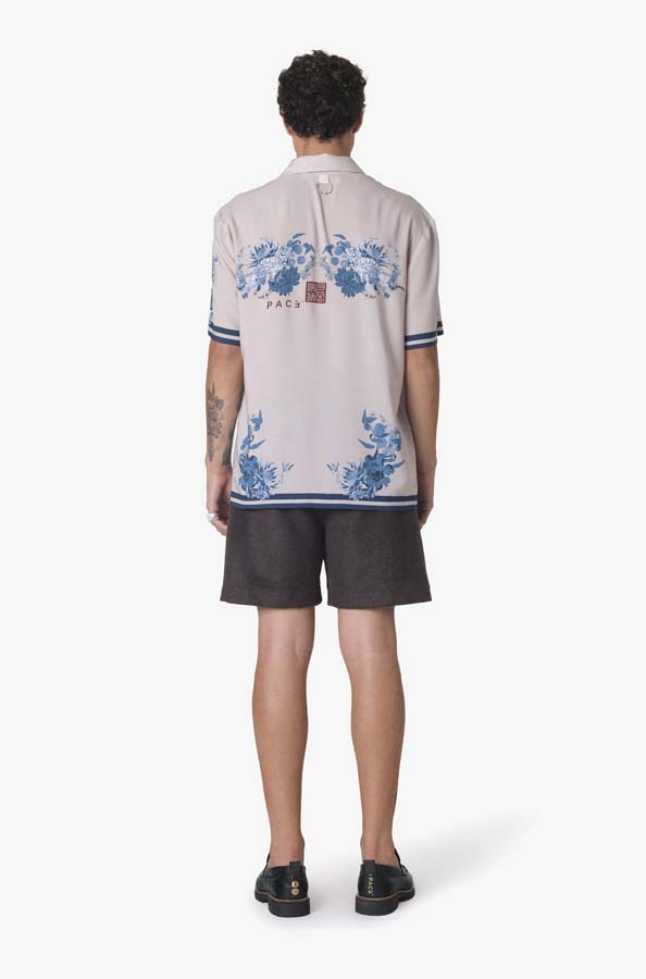 Camisa Pace Tiger Camp Azul