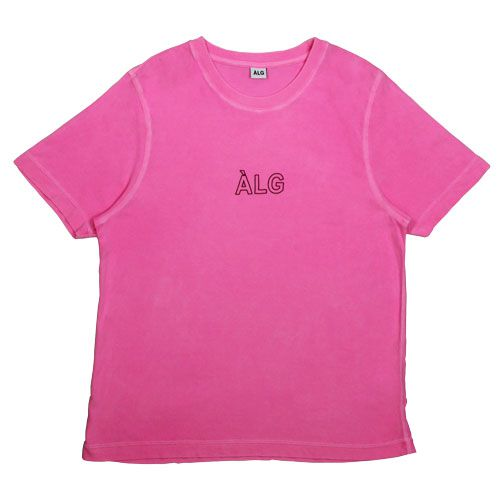 Camiseta ALG Basic Outline Rosa