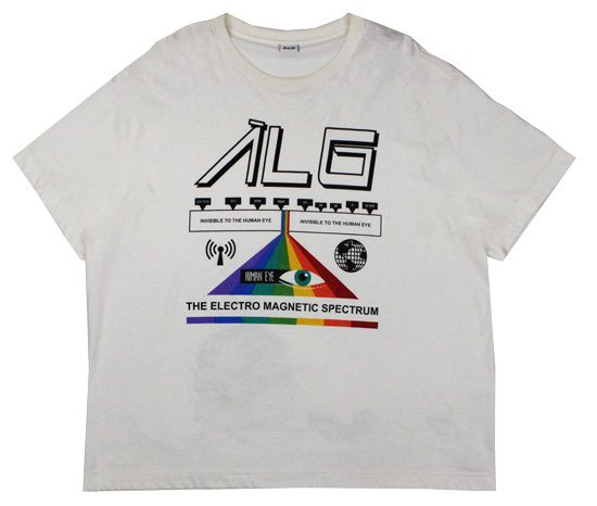 Camiseta ALG Eletromagnetic - Off White
