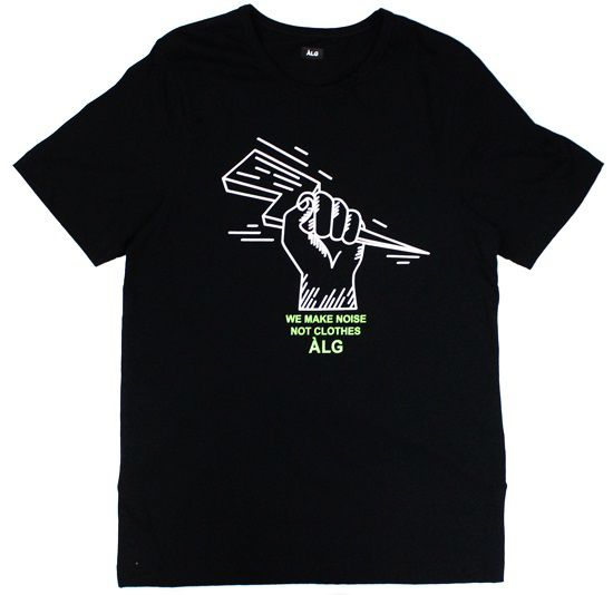 Camiseta ALG We Make Noise Black
