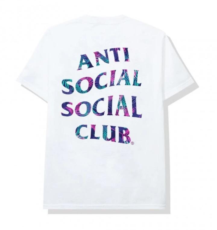 Camiseta Anti Social Social Club Kiss The Wall White Tee