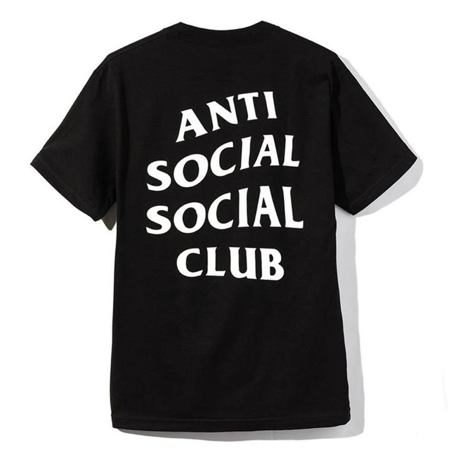 Camiseta Anti Social Social Club Logo Tee 2 Black