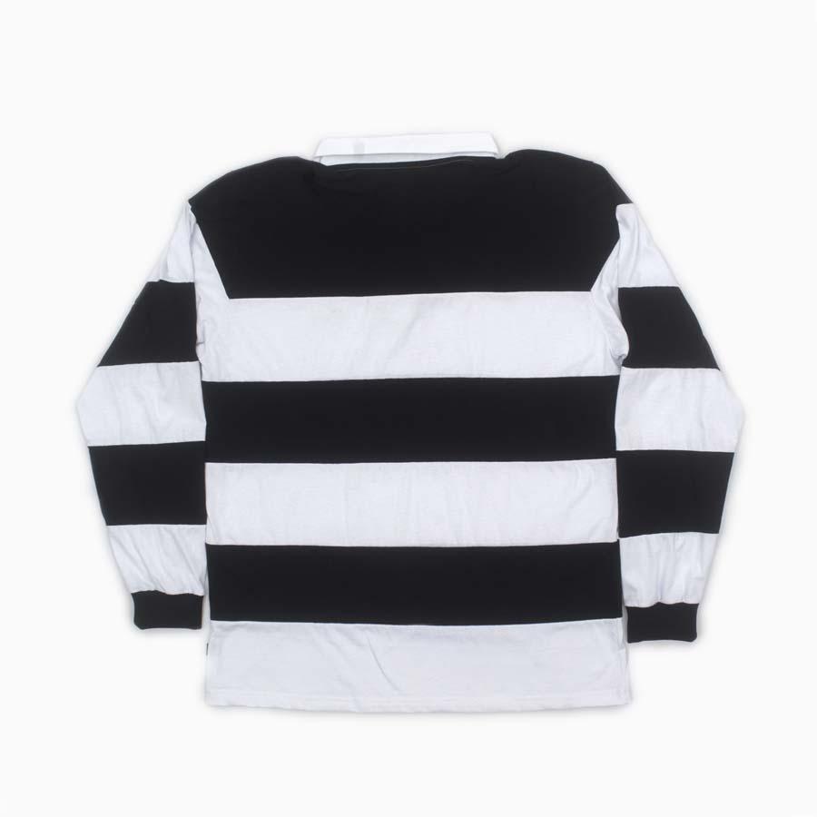 Camiseta Blaze Longsleeve Polo Stripes Black