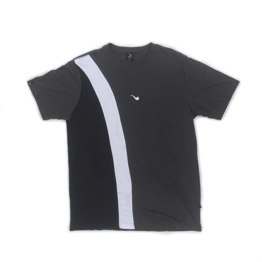 Camiseta Blaze Pipe Tricolor Diagonal Grey
