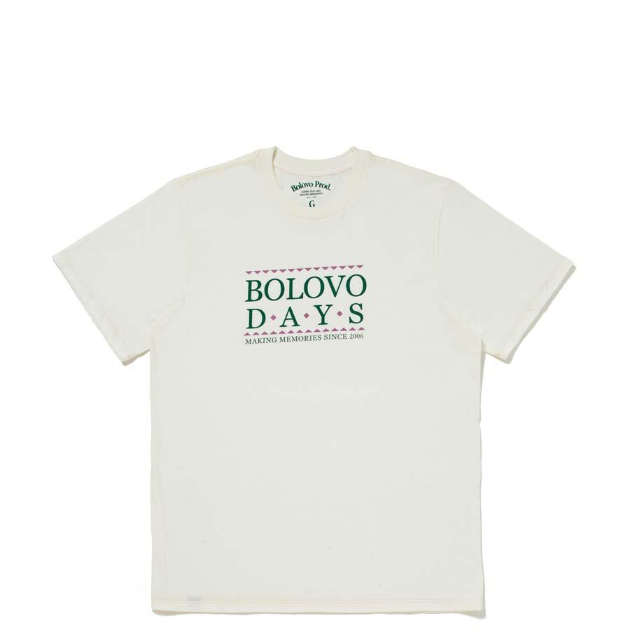 Camiseta  Bolovo DAYS Off White