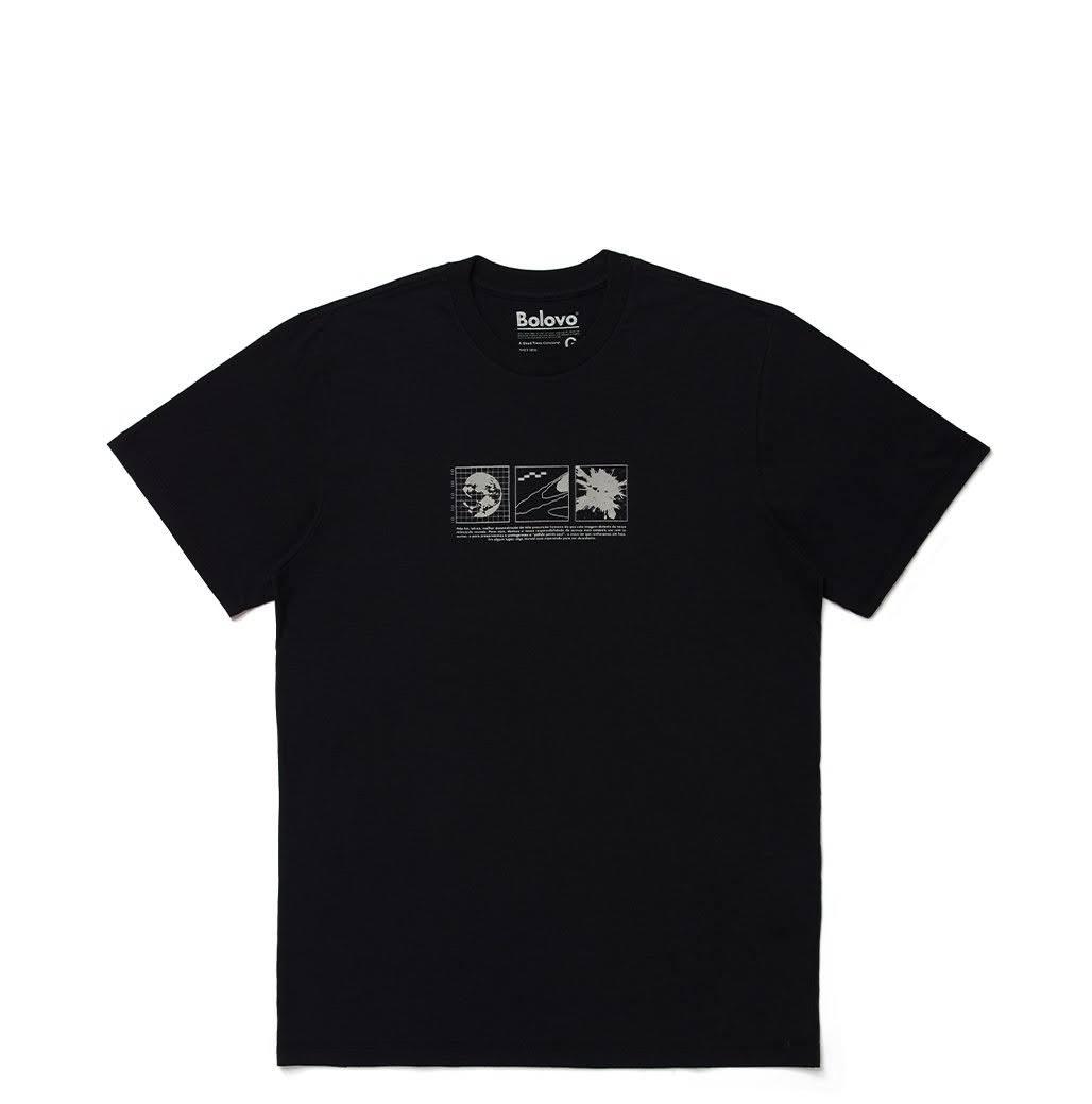Camiseta Bolovo Intergalactic Shirt Preta
