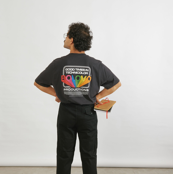 Camiseta Bolovo Technicolor Shirt Preto