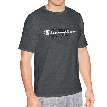 Camiseta Champion Ghotic Chumbo