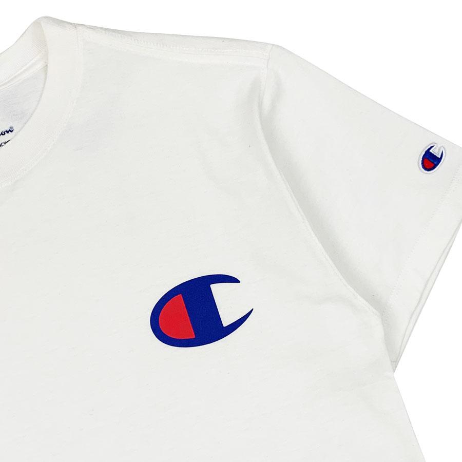 Camiseta Champion Logo C Branca