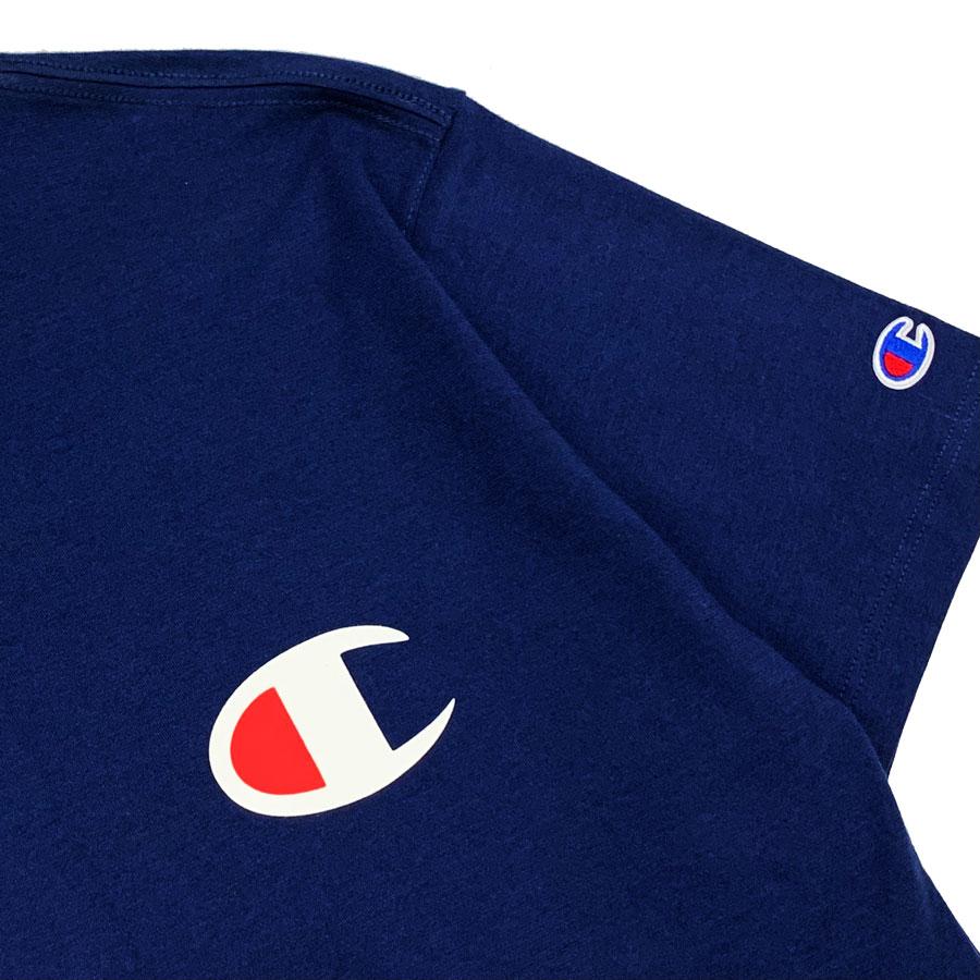 Camiseta Champion Logo C Marinho