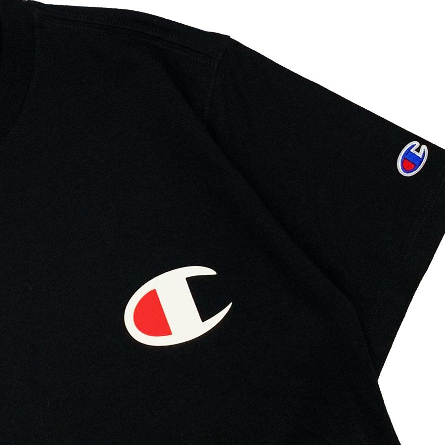 Camiseta Champion Logo C Preta