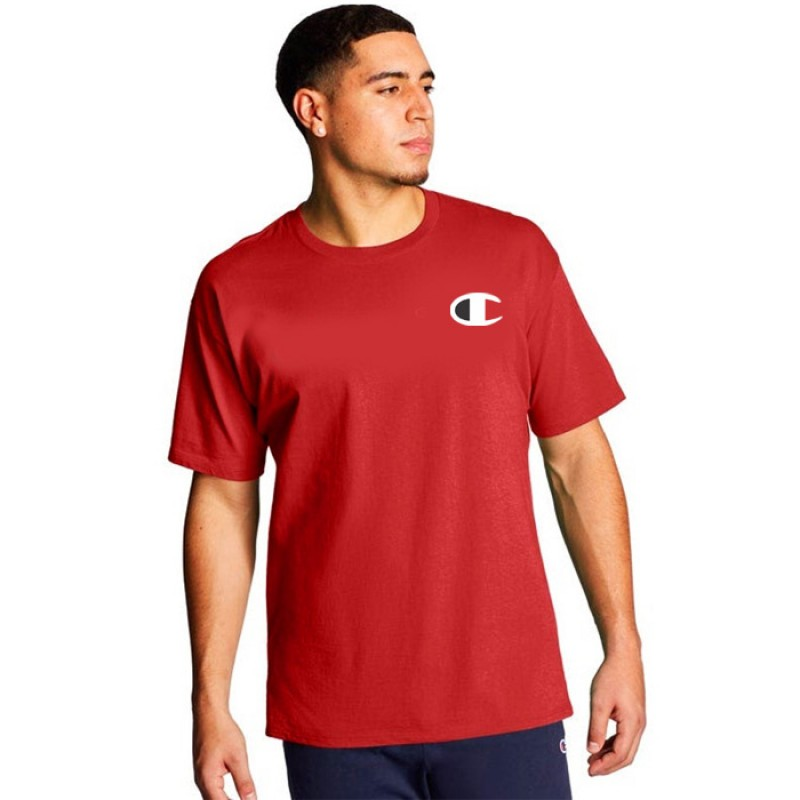 Camiseta Champion Logo C Vermelha