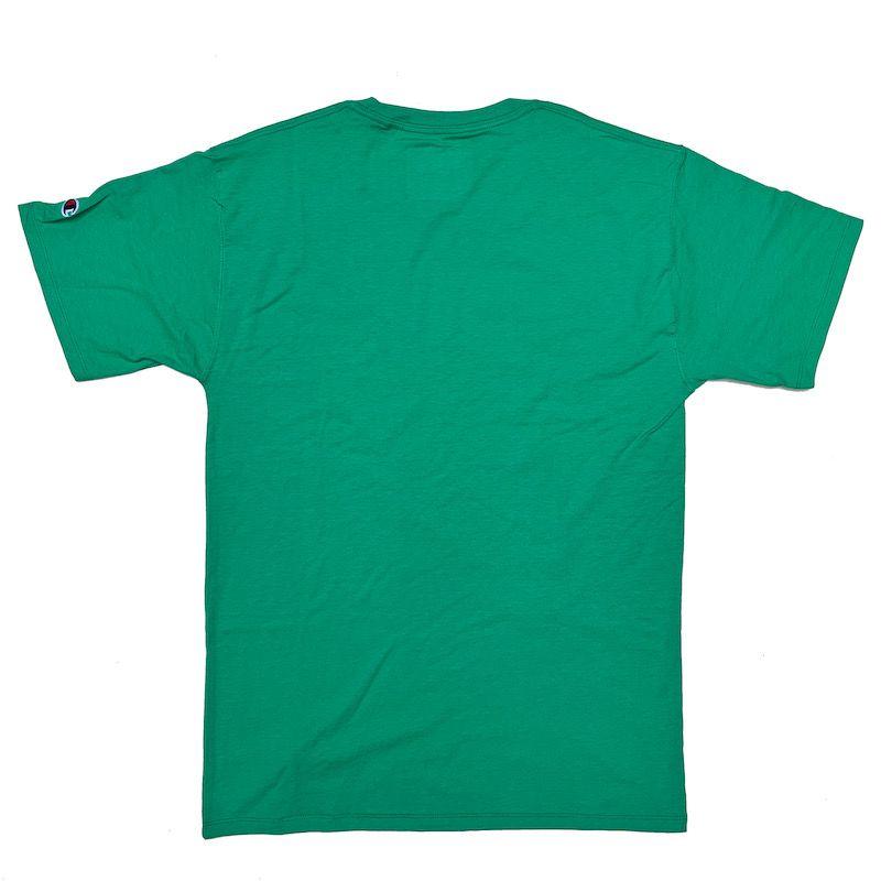 Camiseta Champion Logo Script Verde Menta
