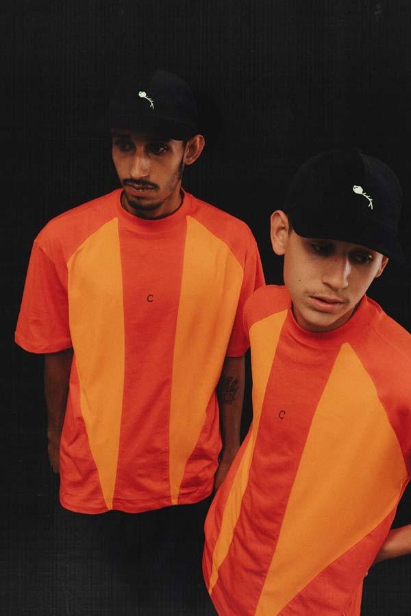 Camiseta Class Classic Sport Orange