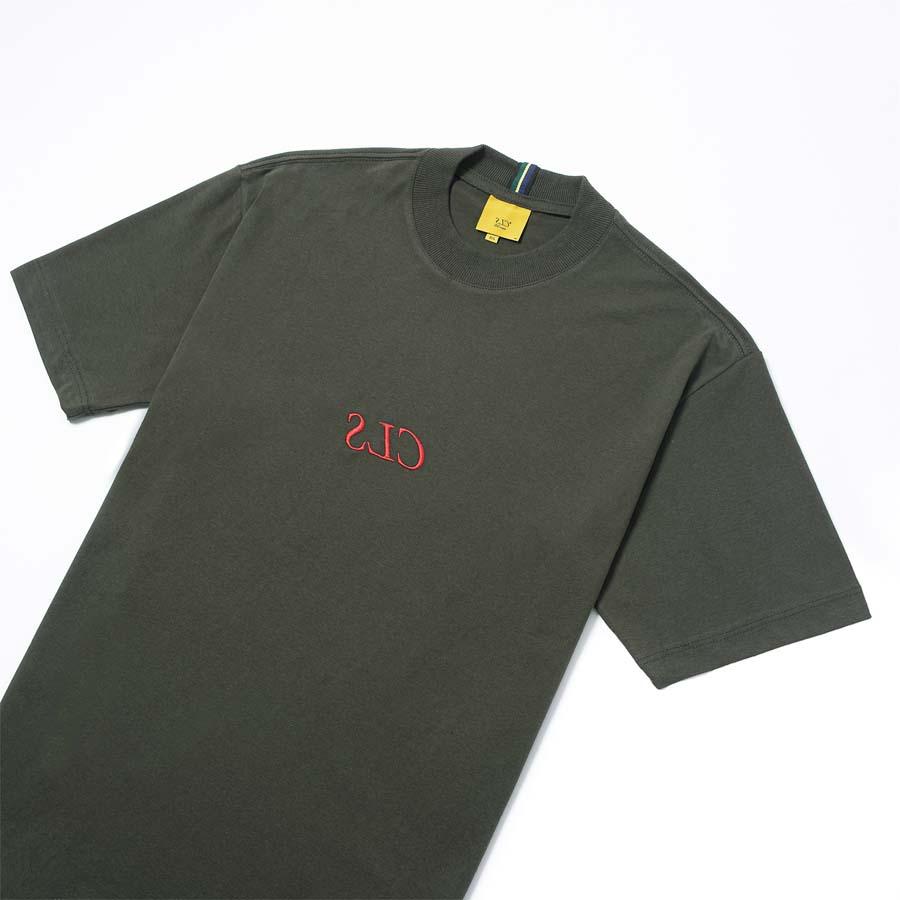 Camiseta Class CLS Inverso Moss Green