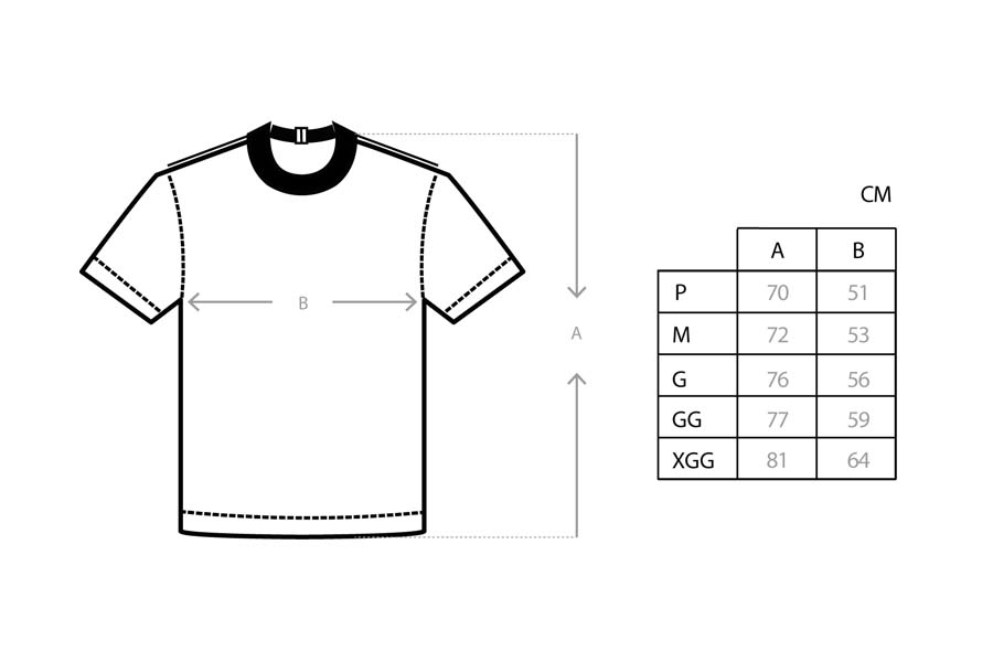 Camiseta Class CLS Inverso Navy
