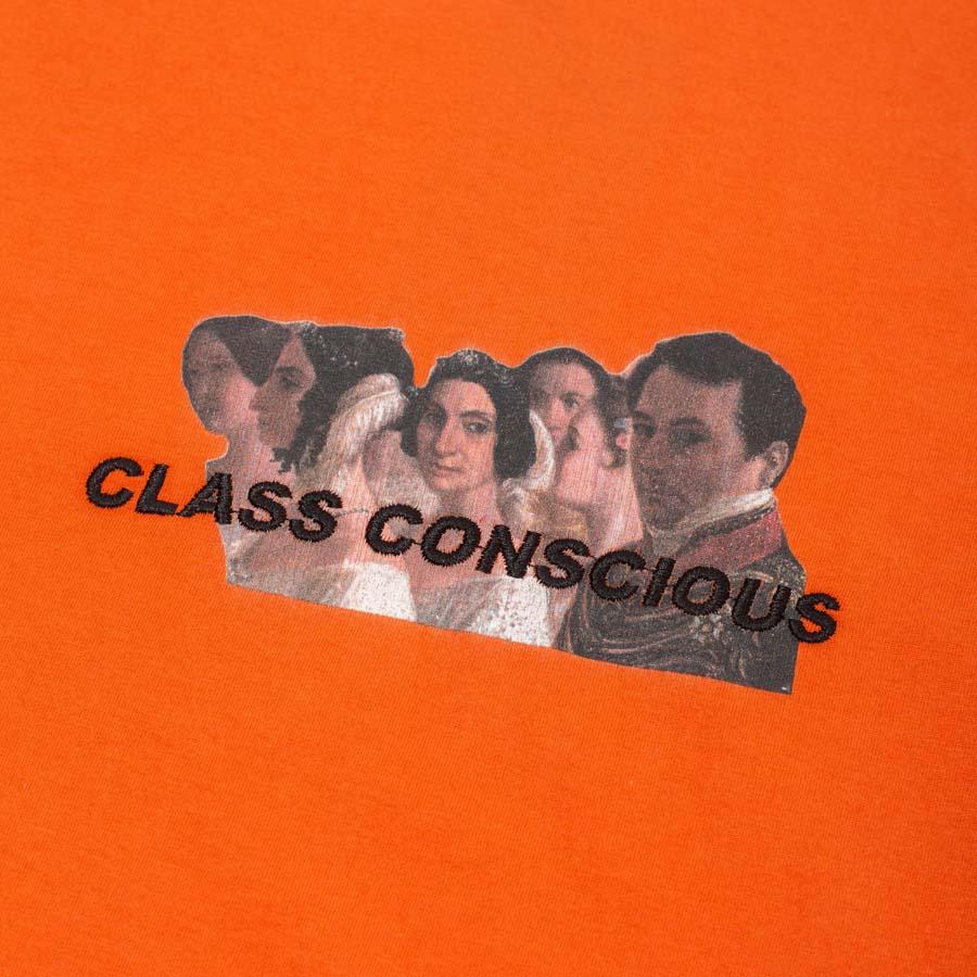 Camiseta Class Conscious Laranja