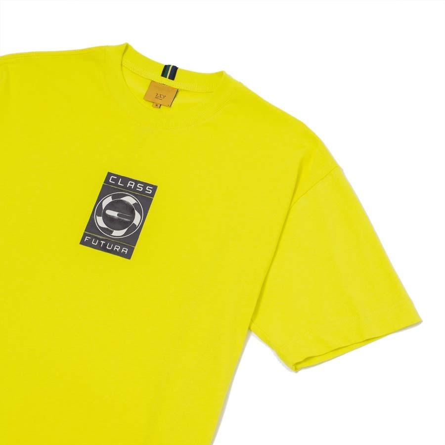 Camiseta Class Futura Limão