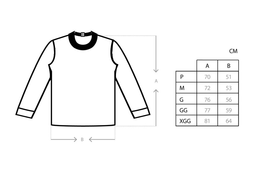 Camiseta Class Longsleeve CLS Inverso Off White