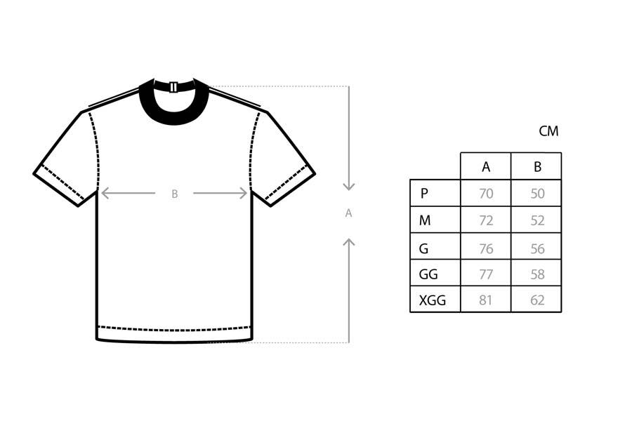 Camiseta Class Volupia Navy