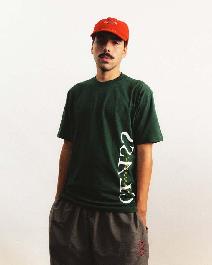 Camiseta Class x Vintageskate Green