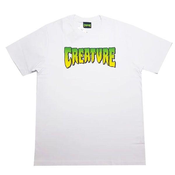 Camiseta Creature Logo Branca