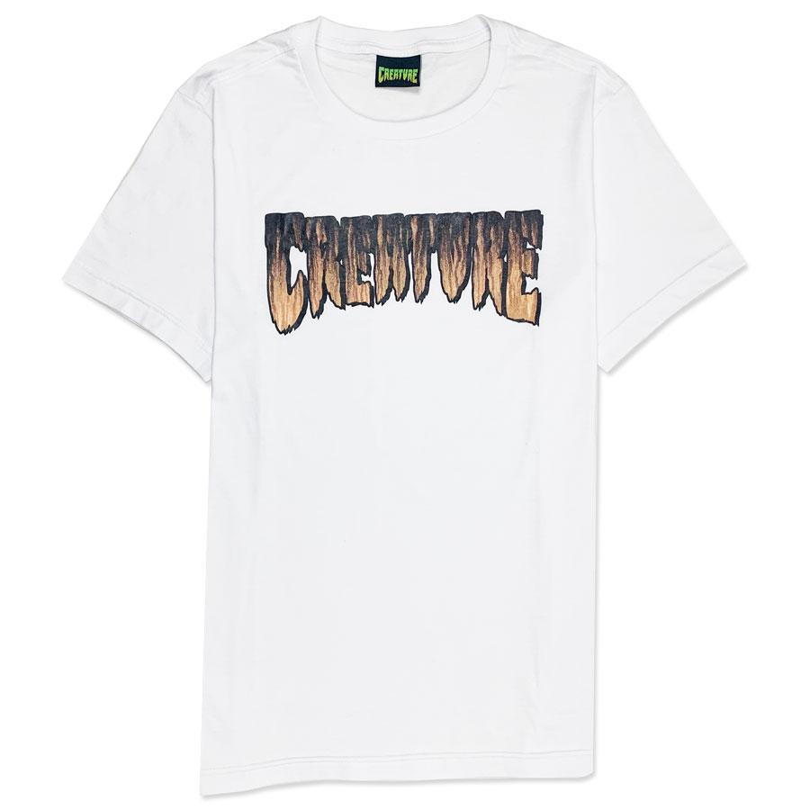 Camiseta Creature Logo Rust White