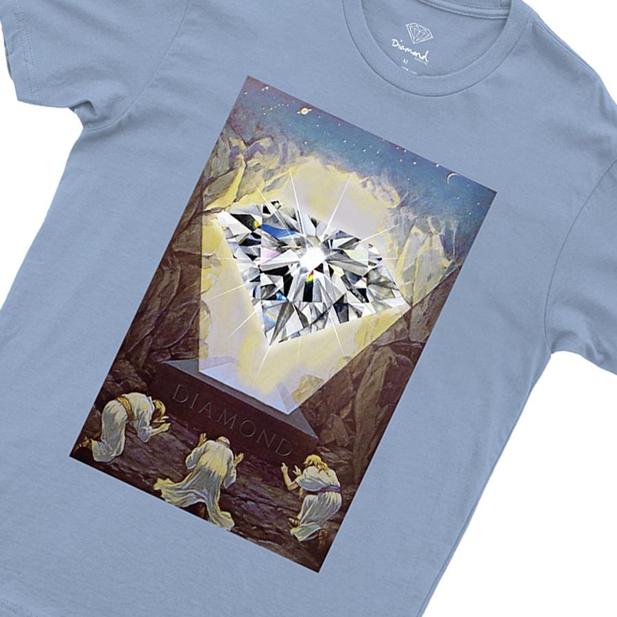 Camiseta Diamond Almighty Tee Powder Blue