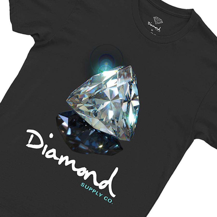 Camiseta Diamond Brilliant Tee Black