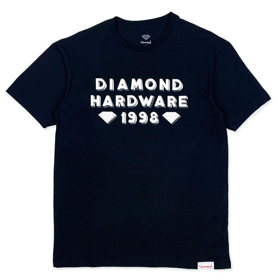 Camiseta Diamond Hardware 98 Black