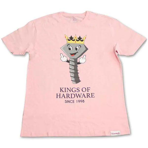Camiseta Diamond Kings of Hardware Pink