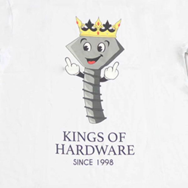 Camiseta Diamond Kings of Hardware White