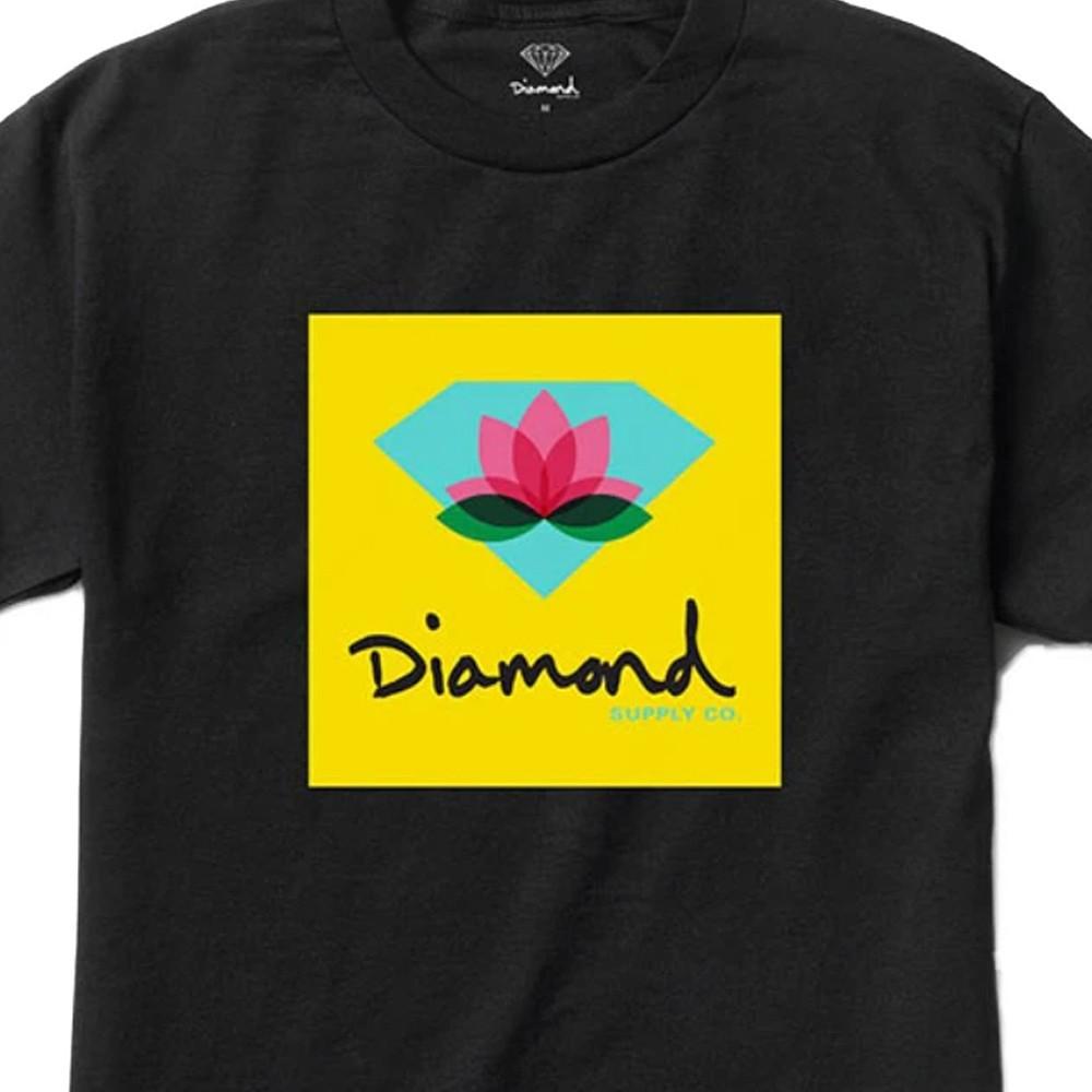 Camiseta Diamond Lotus Black