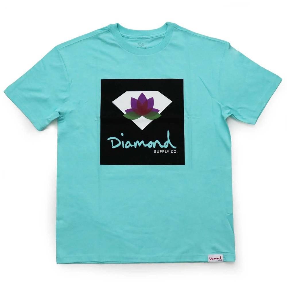 Camiseta Diamond Lotus Blue