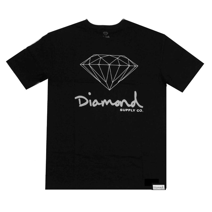 Camiseta Diamond OG SIGN Preto