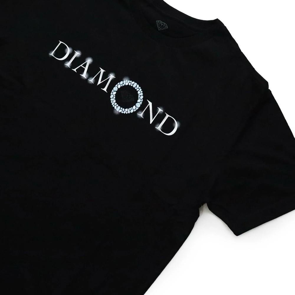 Camiseta Diamond Pendant Black