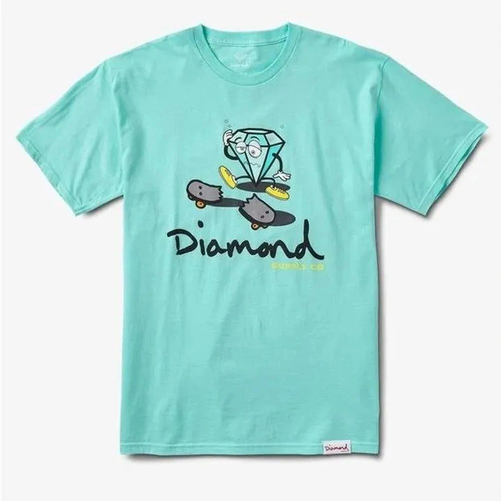 Camiseta Diamond Skate Life Cutty Blue