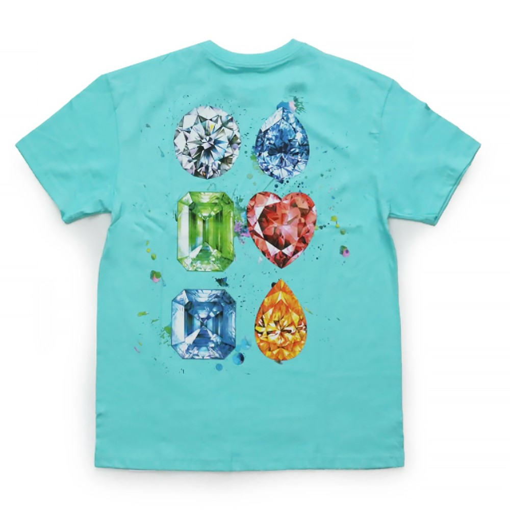 Camiseta Diamond Splash Blue
